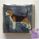 Beagle Custom Photo Italian Charm Megalink - Hound Dog