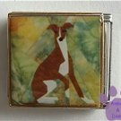 Greyhound or Whippet Dog Custom Photo Italian Charm Megalink