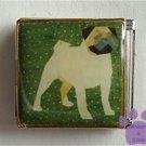 Pug Dog Custom Photo Italian Charm Megalink