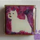 West Highland White Terrier Custom Photo Italian Charm Megalink