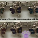 Dragonfly Dangle Mood Slider 5mm Italian Charm - Color Changer