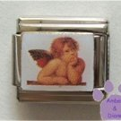 Raphael Cherub Italian Charm first Sistine Madonna Angel
