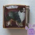 Australian Shepherd Dog 9mm Custom Photo Italian Charm