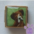 Boxer with Uncropped Ears 9mm Custom Photo Italian Charm
