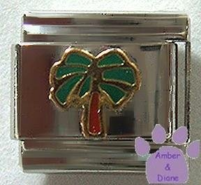 Palm Tree Italian Charm to Remember a Holiday in the Sun