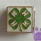 4 Leaf Clover 4 H Club Symbol Italian Charm