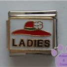 LADIES Red Hat Italian Charm for the Red Hat Society