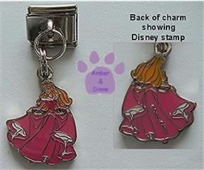 Disney Sleeping Beauty Dangle Italian Charm Princess