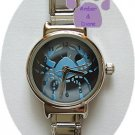 Zodiac Silvertone Italian Charm Watch CANCER June 21 to July 22