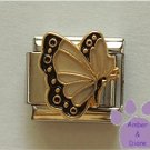 April BUTTERFLY Birthstone with white-diamond colored wings