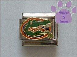 Gator Logo Italian Charm Florida Gators