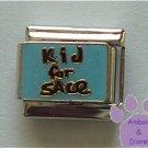 Kid for Sale Italian Charm on blue enamel