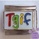 Tgif Italian Charm colorful - Thank Goodness It's Friday