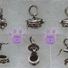 Prayer Box Sterling Silver Pendant Round charm