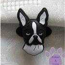 Boston Terrier Shoe Doodle Dog Charm for Crocs