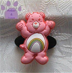 Cheer Bear Shoe Doodle Charm Carebears pink Care Bears for Crocs