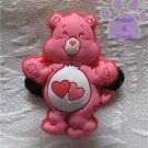 Love-a-Lot Bear Shoe Doodle Charm Carebears pink Care Bears for Crocs