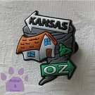 The Wizard of Oz - signpost Kansas to Oz Shoe Doodle Charm for Crocs