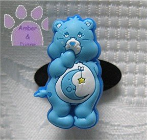 Bedtime Bear Shoe Doodle Charm Carebears blue Care Bears for Crocs