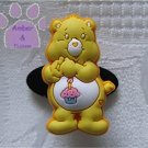 Birthday Bear Shoe Doodle Charm Carebears yellow Care Bears for Crocs