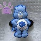 Grumpy Bear Shoe Doodle Charm Carebears blue Care Bears for Crocs
