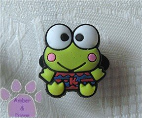 Keroppi Shoe Doodle green frog from Donut Pond
