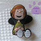 Peppermint Patty Shoe Doodle from the Peanuts Gang