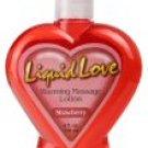 "Liquid Love"" - Warming Massage Lotion 4oz - Each Bottle"