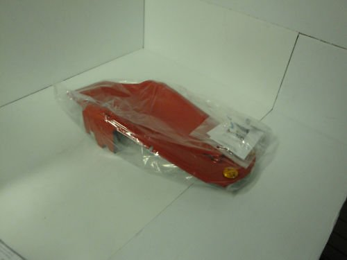 02/03 Honda CBR 900R Red Undertail