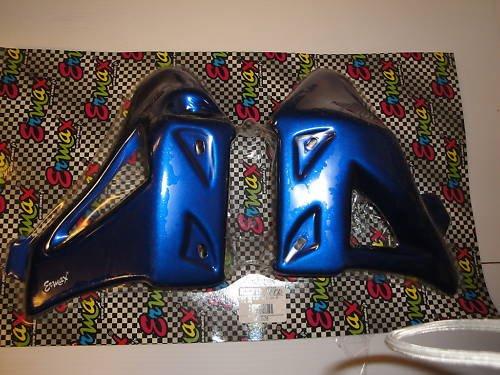 04/05 Suzuki SV 650 Blue Rad Cover