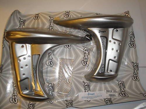 05 Kawasaki Z750 Silver Rad Cover