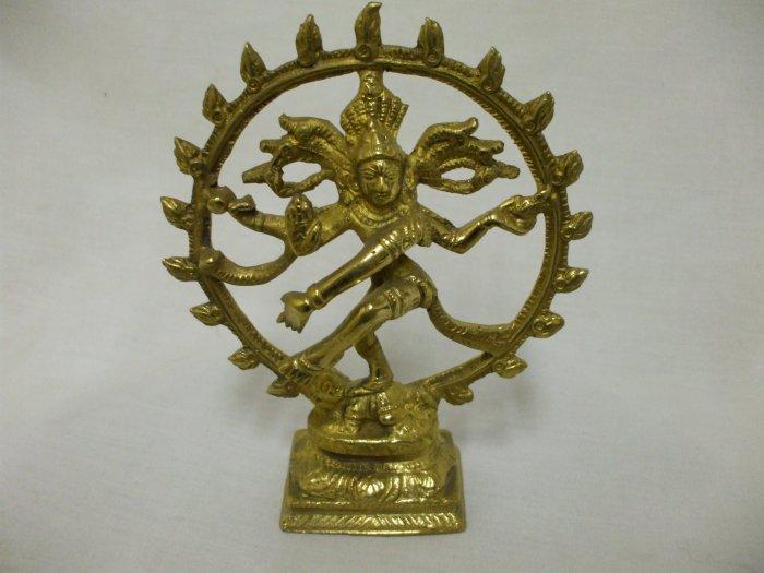 Dancing Shiva / Natraj- India Solid Brass Bright Finish