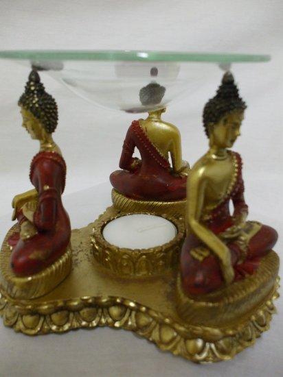 Dhyani Buddha Ratna Sambhava Aroma Oil Burner Resin