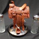 saddle Salt and Pepper Shaker