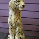 White tiger sitting