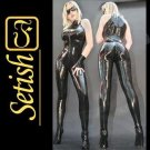Handmade Sexy Costume Latex Rubber Catsuit  #cts013