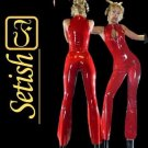 Handmade Sexy Costume Latex Rubber Catsuit  #cts016