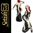 Sexy Costume Latex catsuit Latex Dress   #skn003 hot sale !!