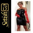 Sexy Costume Latex catsuit Latex Dress   #skn005 without glove hot sale !!