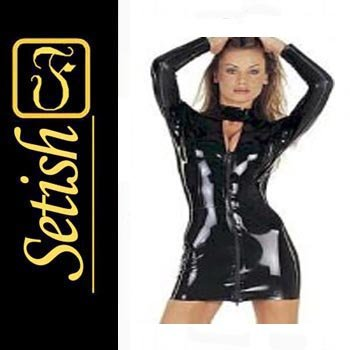 Latex catsuit Latex Rubber Dress  #skn020