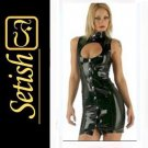 Black Catsuit  Sexy Latex Dress  #skn048