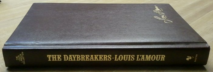 """Louis L'Amour """"The Daybreakers"""" Leather? EXCELLENT!"""