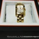 Men's SOLID 18K Gold BAUME & MERCIER Swiss Watch $8950