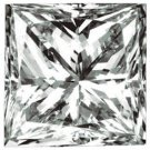 Genuine GIA Cert. 1.15 CT Square Princess  Cut  DIAMOND
