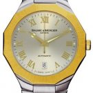 Baume & Mercier BOA08717 Watch MOA08717 SS and 18K