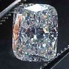 Genuine GIA Cert. 1.01 ct CUSHION Loose Diamond F VS2
