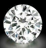 Genuine EGL Certified .96 ct Round Loose Diamond F VS1