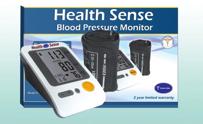 Heart Sense Upper Arm Automatic Measure Blood Monitor