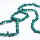 "NEW 570 ctw Impressive GENUINE MALACHITE 36"" Necklace"