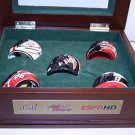 UNIQUE Limited Edition NASCAR Mini-Helmets 6pc Set RARE